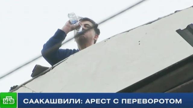 Миша, который сидел на крыше: как экс-президент Грузии чуть не прыгнул с высоты