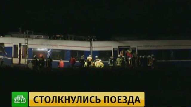 Пострадавших в железнодорожной катастрофе в Германии вывозили медицинские вертолеты