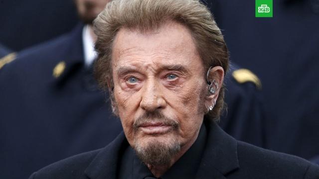 Умер французский певец Джонни Холлидей