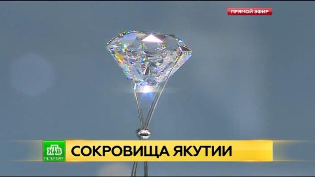 В Петербург привезли сокровища Якутии