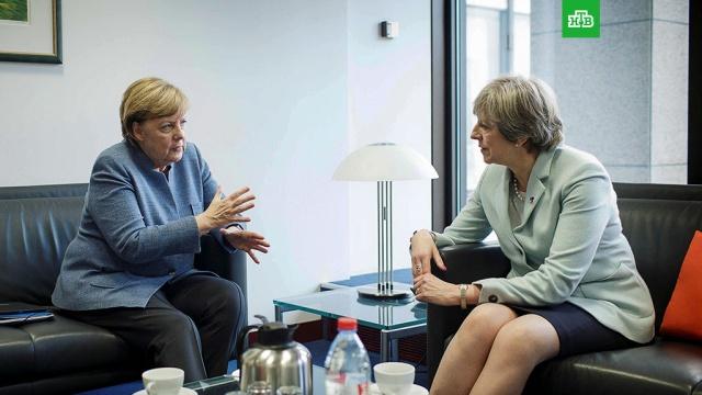 Меркель и Мэй раскритиковали решение Трампа по Иерусалиму