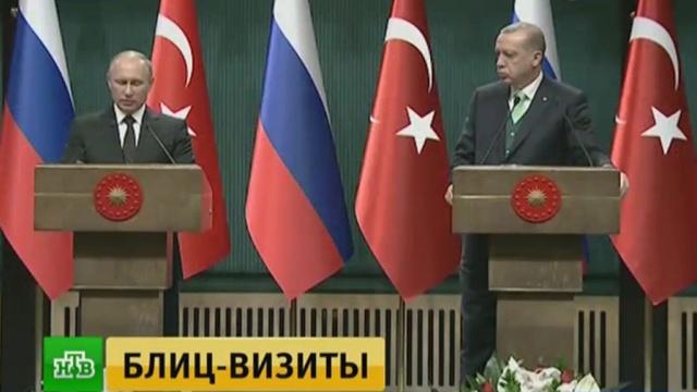 Путин и Эрдоган обсудили совместные энергопроекты России и Турции