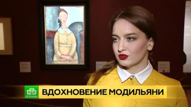 Петербургский музей Фаберже заполнили ожившие модели Модильяни