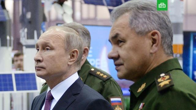 Приказ выполнен: Шойгу доложил Путину о выводе войск из Сирии