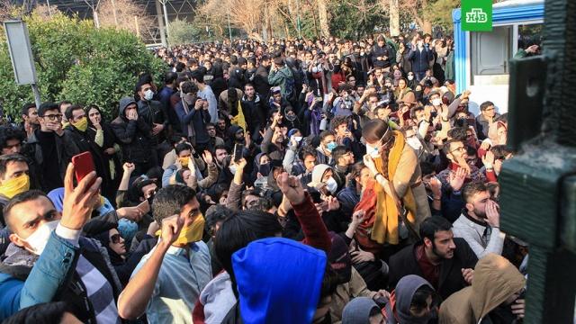 жертвами беспорядков время массовых протестов иране