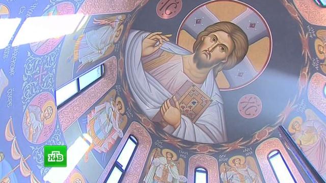 Ведущие российские художники расписали купол Аланского мужского монастыря