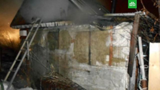Мужчина и двое детей погибли при пожаре в Татарстане