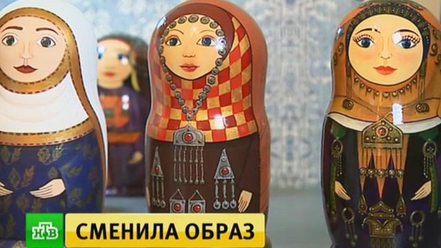 В Дагестане матрешек нарядили в традиционные кавказские платья