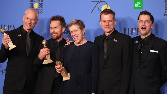 Фильм Три билборда получил Золотой глобус как лучшая драма