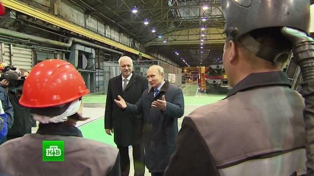 Супер, просто класс: Путина впечатлила продукция Тверского вагоностроительного завода