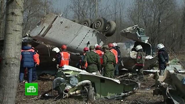 Польская версия: в Варшаве рассказали о бомбах на борту самолета Качиньского