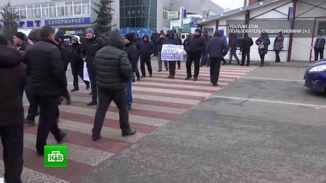 Организаторы протестов на польско-украинской границе грозят новыми акциями
