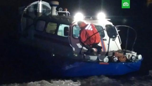Спасатели сняли со льда в Финском заливе троих подростков