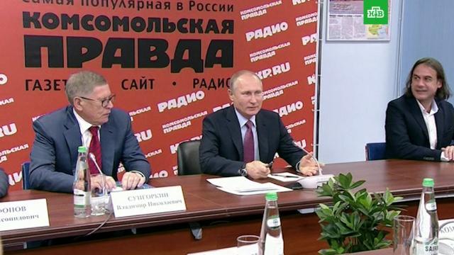 Путин: Россию не устраивает замороженный конфликт в Донбассе