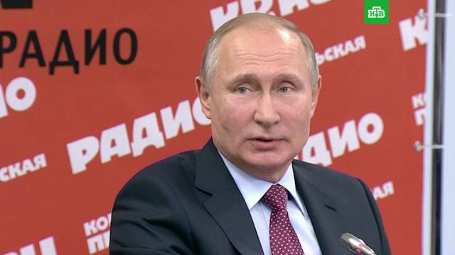 Это обостряет дискуссию: Путин о большом числе кандидатов в президенты в РФ