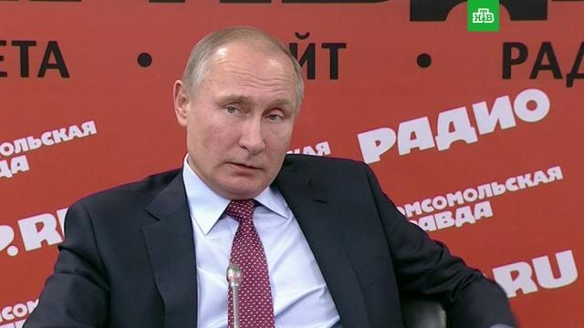Путин: России известны организаторы атаки на российскую базу в Сирии