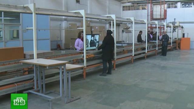 В Дамаске восстановлен завод по производству телевизоров