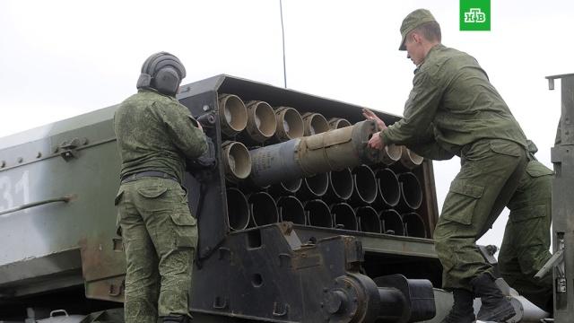 Минобороны увеличило закупки снарядов для тяжелых огнеметных систем Буратино