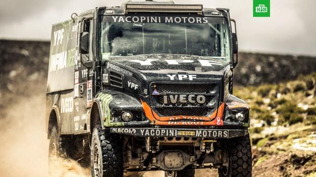 Аргентинец Вильягра стал победителем 6 этапа Дакара в зачете грузовиков