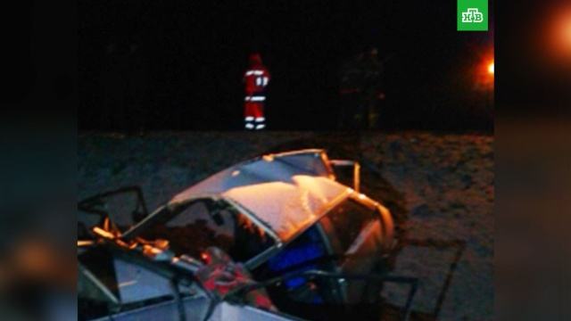 Из-за выехавшей на встречку легковушки 5 человек погибли в Тамбовской области