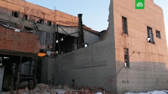 В Копейске обрушилось заброшенное здание: под завалами могут находиться люди