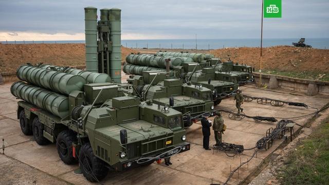 В Севастополе развернули дивизион С-400