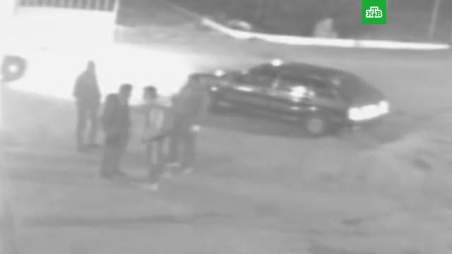 Смертельные разборки со стрельбой в Калужской области попали на видео