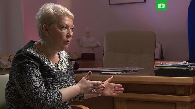 На НТВ  интервью министра образования Ольги Васильевой