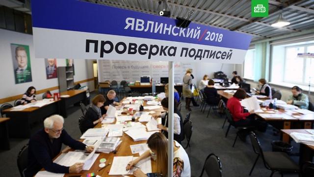Явлинский собрал подписи для выдвижения в президенты