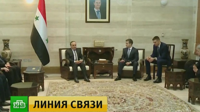 Российские специалисты помогут сирийцам восстановить телекоммуникации