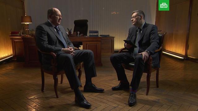 На НТВ — интервью Олега Сафонова