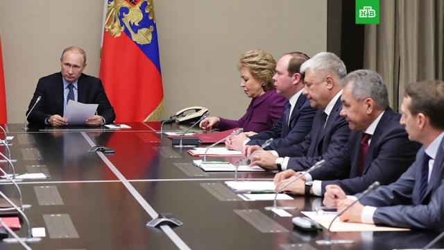 Путин обсудил с Совбезом РФ закон о реинтеграции Донбасса