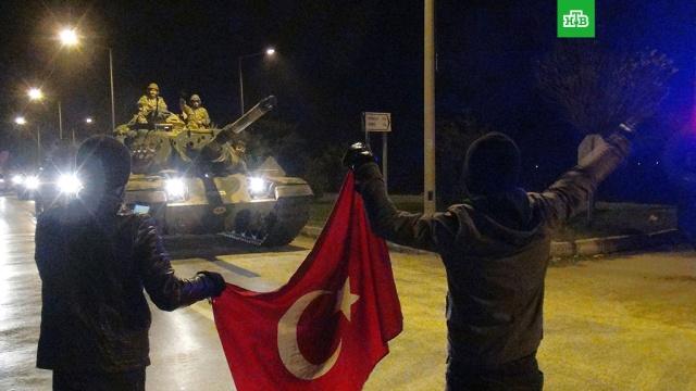 В сирийский Африн вошли турецкие танки