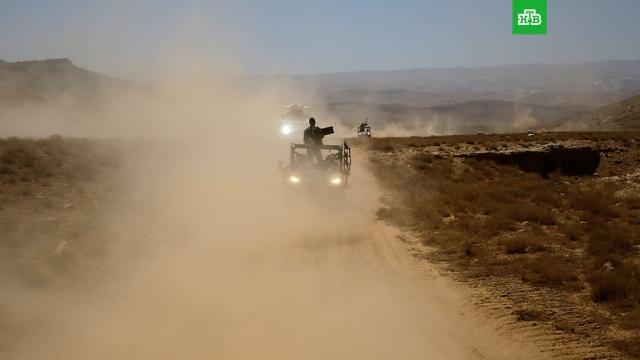 Сирийские войска выбили боевиков с территории аэродрома в Идлибе