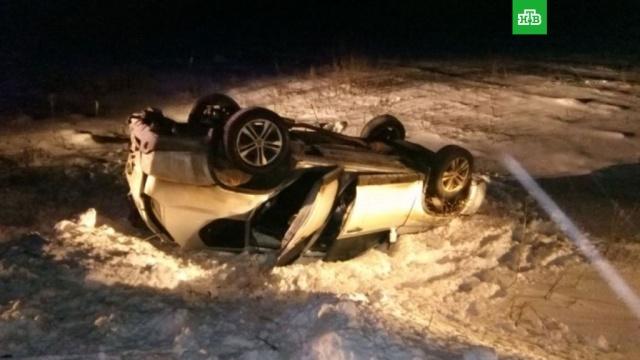 На трассе в Тульской области погибли пять человек