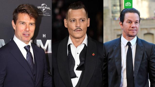 Джонни Депп, Том Круз и Марк Уолберг номинированы на звание худших актеров года