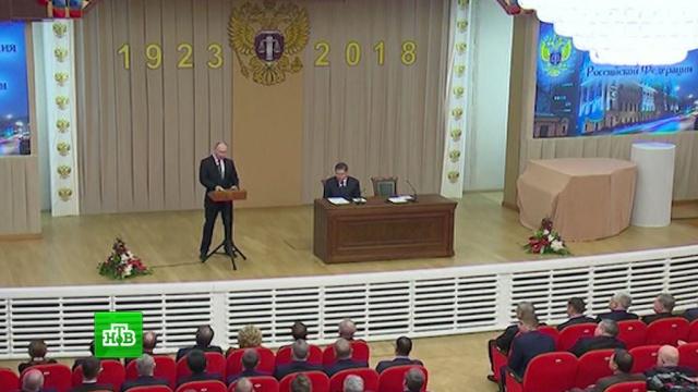 Путин рассказал о новой мере наказания для судей