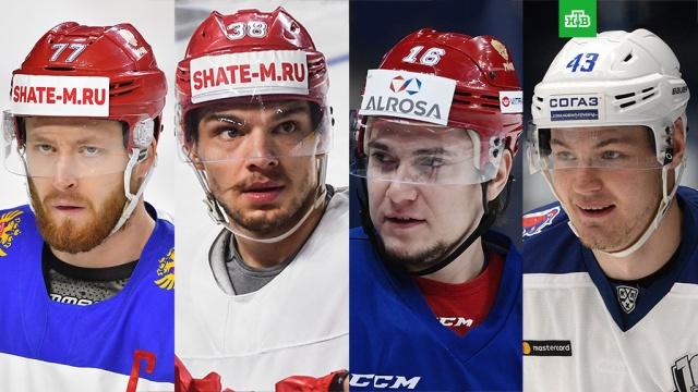 Стали известны имена отстраненных от Олимпиады российских хоккеистов