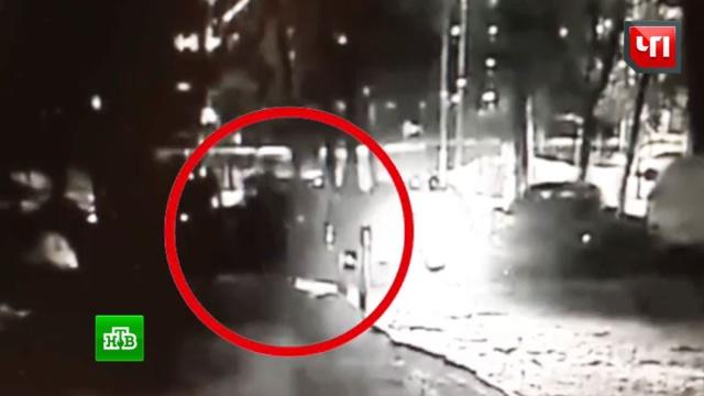 Убийство бизнесмена на юго-западе Москвы попало на видео