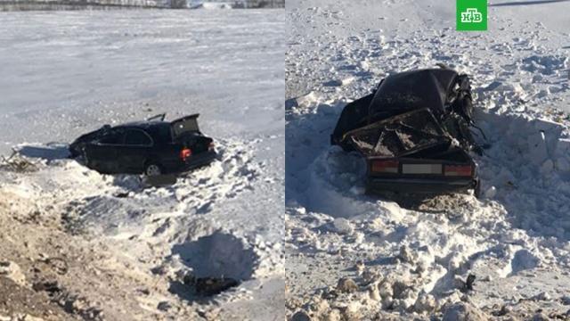 В Башкирии женщина на Жигулях врезалась в BMW и погибла вместе с детьми
