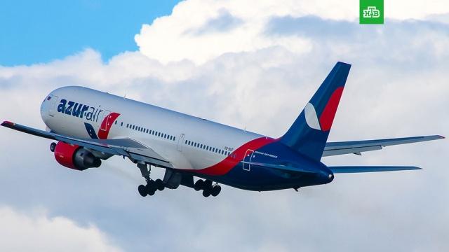 В Azur Air назвали причину незапланированной посадки самолета в США