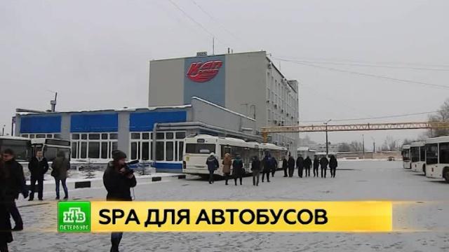 В Петербурге модернизировали Колпинский автопарк