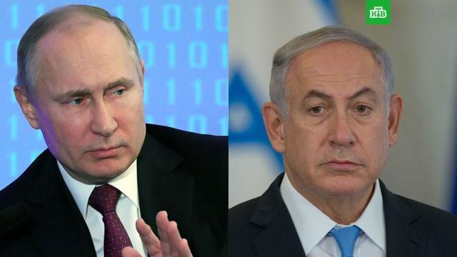 Путин призвал Израиль избегать обострения ситуации в Сирии