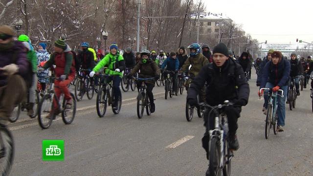 В Москве прошел третий ежегодный велопарад
