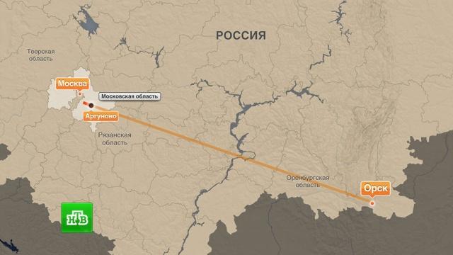 Спасатели идут пешком к месту крушения Ан-148 в Подмосковье