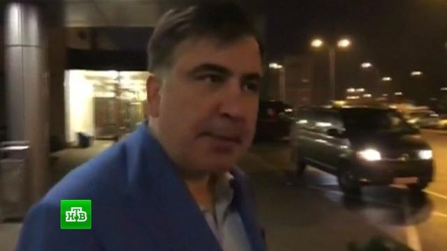 Саакашвили попросил ЕС о помощи в противостоянии Порошенко