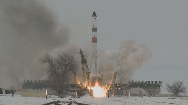Ракета Союз с кораблем Прогресс МС-08 стартовала к МКС
