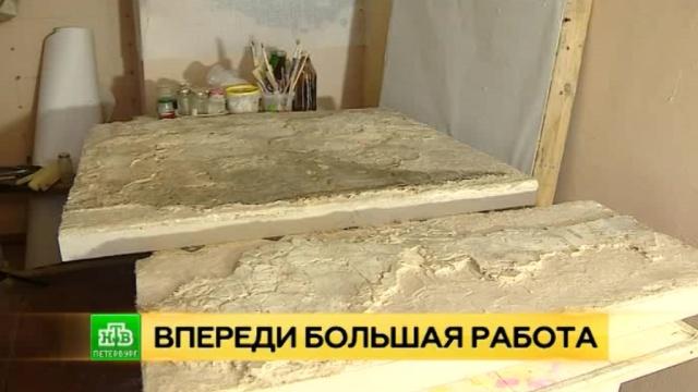 Выкопанные из земли: петербургские реставраторы начали восстанавливать уникальные псковские фрески XIV века