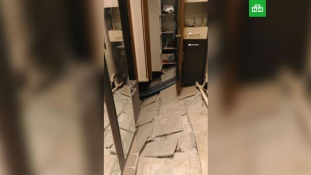 подмосковной пятиэтажке провалился жильцы эвакуированы