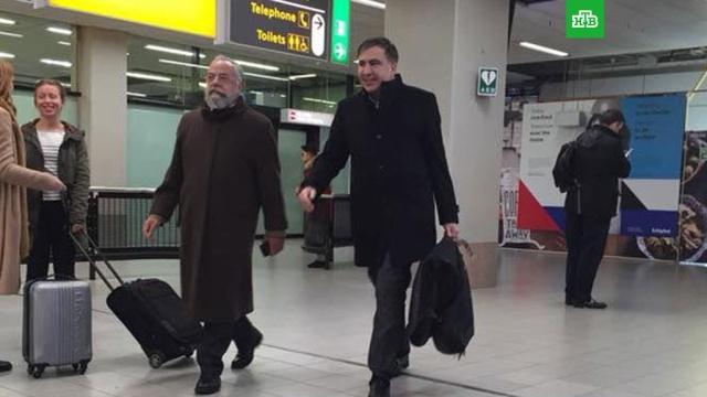 Джигита-мученика Саакашвили заметили в Амстердаме